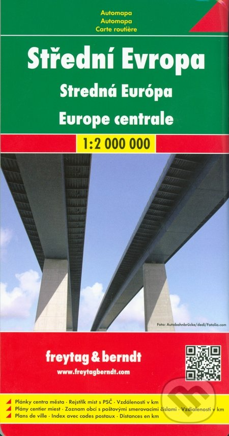 Střední Evropa 1:2 000 000 -