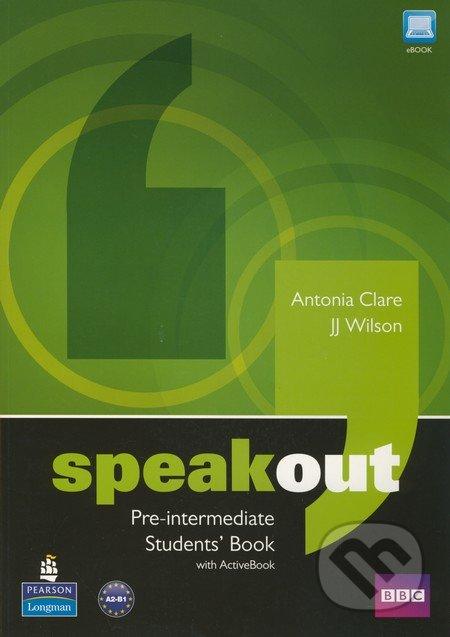 Speakout. Pre-intermediate. Student's book with ActiveBook + DVD - Náhled učebnice