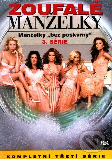 Zoufalé manželky 3. série DVD