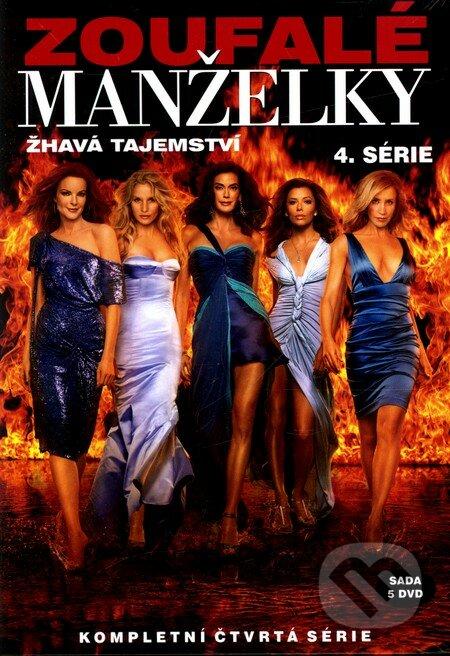 Zoufalé manželky 4. série DVD