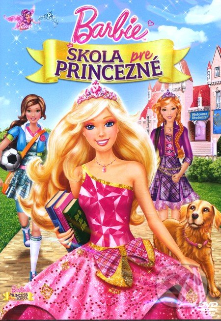 Barbie a škola pro princezny DVD