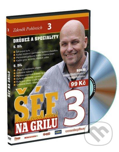 Šéf na grilu 3 DVD