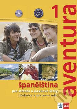 Aventura 1 - Španělština pro střední a jazykové školy (Učebnice a pracovní sešit) -