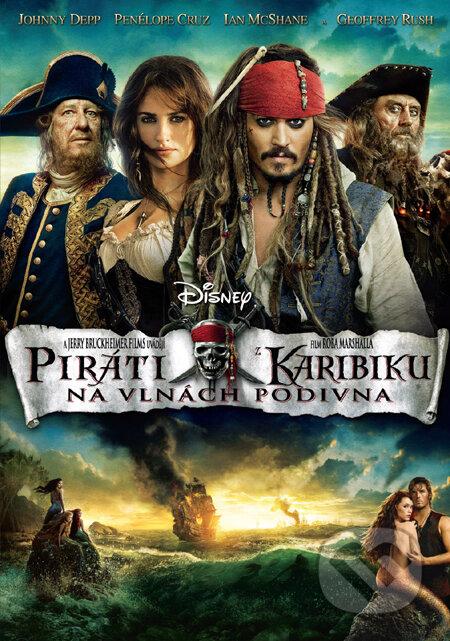 Piráti z Karibiku 4: Na vlnách podivna DVD