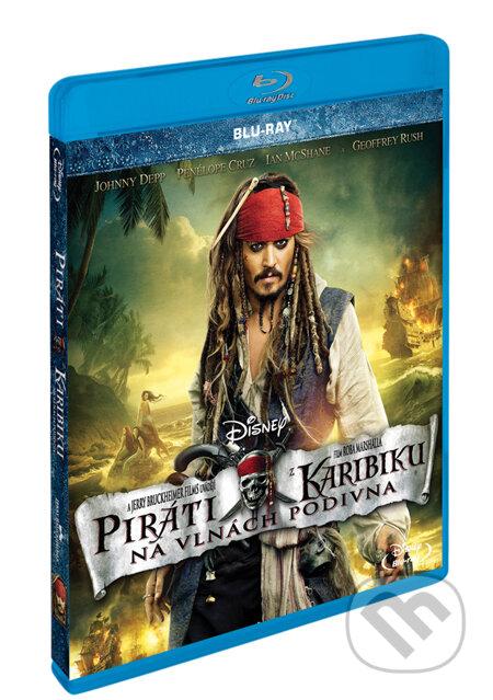 Piráti z Karibiku 4: Na vlnách podivna BLU-RAY