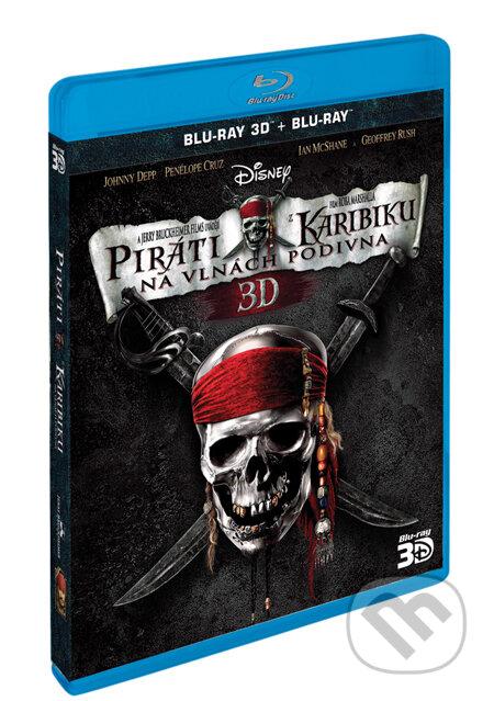 Piráti z Karibiku 4: Na vlnách podivna (3D + 2D) BLU-RAY