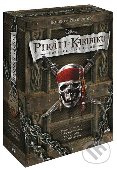 Piráti z Karibiku: Kolekcia 1 - 4 DVD