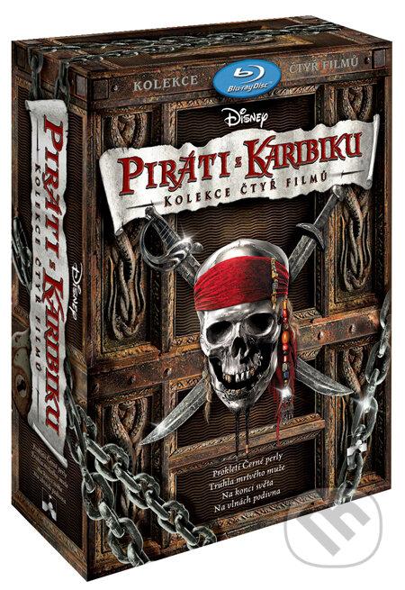 Piráti z Karibiku: Kolekcia 1 - 4 BLU-RAY