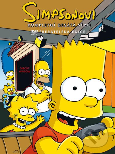 Simpsonovci - 10. séria DVD