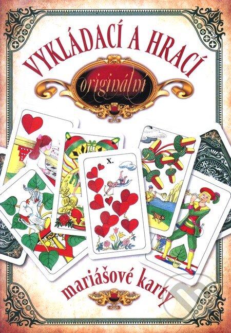 Vykládací a hrací originální mariášové karty - Jan Hrubý