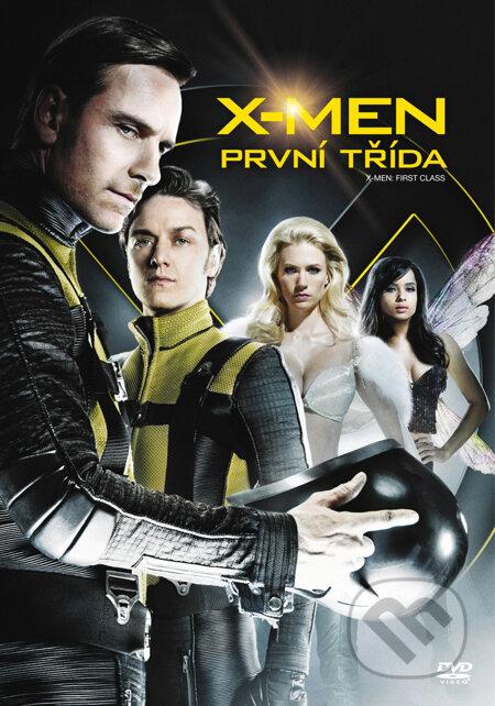 X-Men: První třída DVD