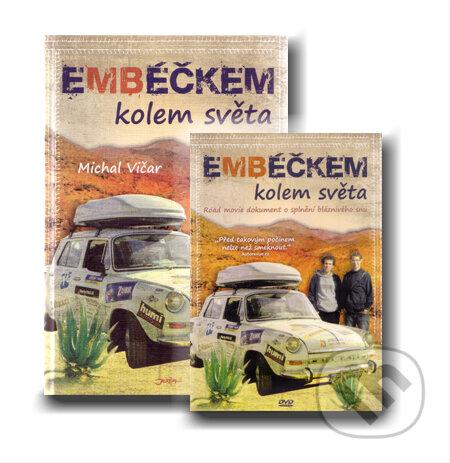 Jota Embéčkem kolem světa + DVD - Michal Vičar