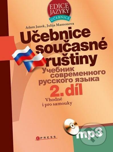 Učebnice současné ruštiny, 2. díl - Adam Janek, Julija Mamonova