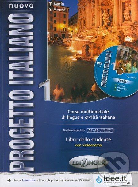 Nuovo Progetto Italiano 1: Libro dello studente + DVD - T. Marin, S. Magnelli