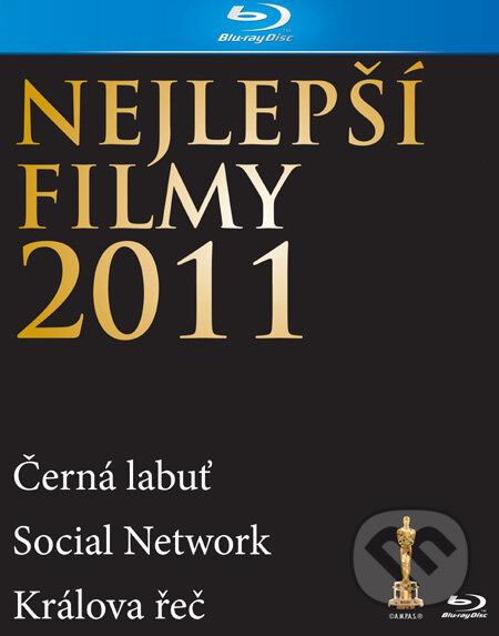 Nejlepší filmy 2011 - 3 Blu-ray BLU-RAY