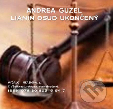 Lianin osud ukončený (e-book v .doc a .html verzii) - Andrea Guzel