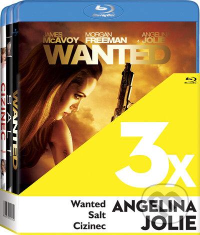 3x Angelina Jolie - 3 Blu-ray BLU-RAY