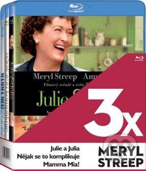 3x Meryl Streep - 3 Blu-ray BLU-RAY