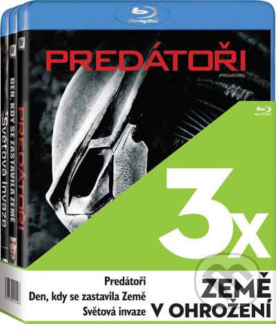 3x Země v ohrožení - 3 Blu-ray BLU-RAY