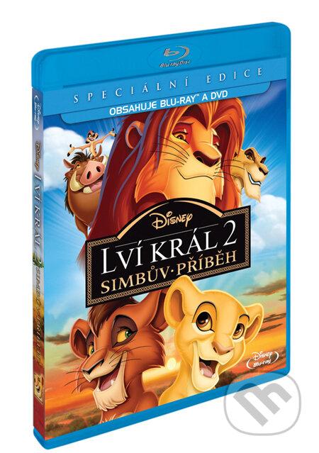 Lví král 2: Simbův příběh - Blu-ray + DVD BLU-RAY