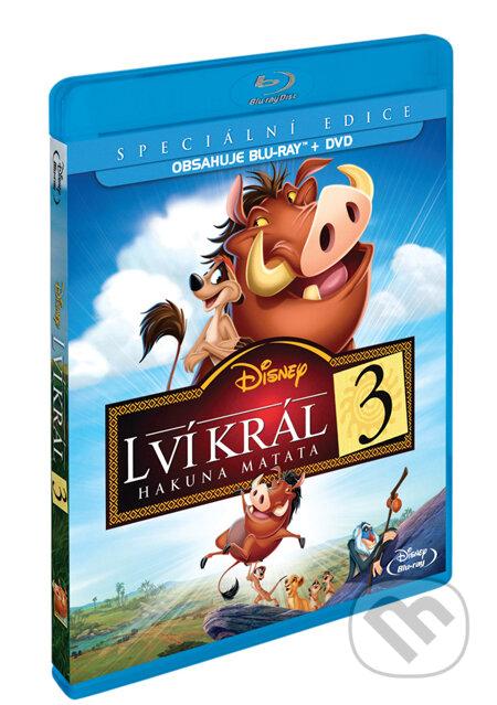 Lví král 3: Hakuna Matata - Blu-ray + DVD BLU-RAY
