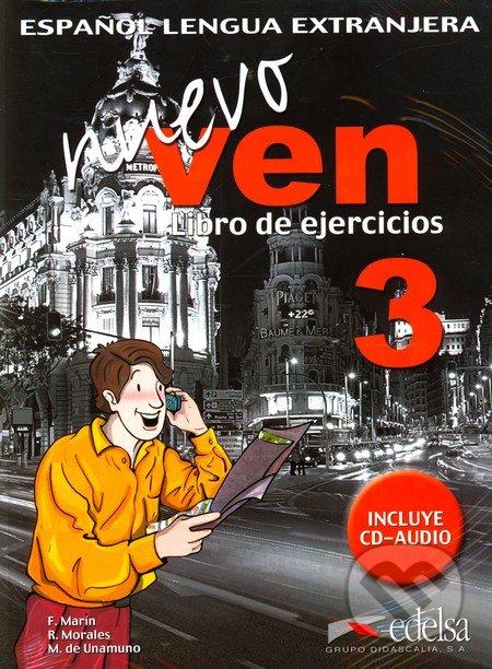 Nuevo ven 3 - 3 Libro de Ejercicios +CD -