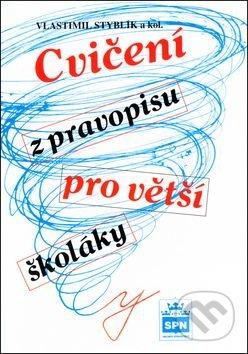 Cvičení z pravopisu pro větší školáky - Náhled učebnice