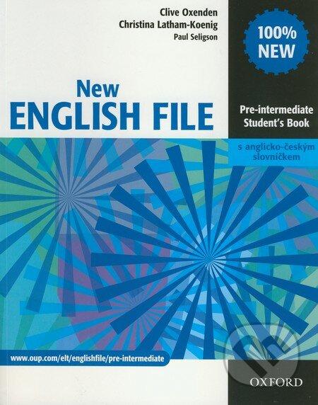 New English file - Pre-intermediate - Student\'s Book - Clive Oxenden, Christina Latham-Koenig