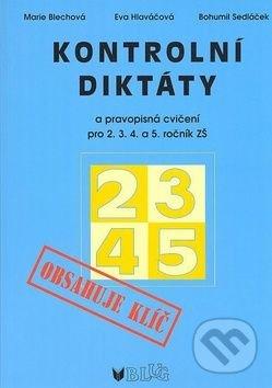 Kontrolní diktáty a pravopisná cvičení pro 2.-5. ročník základních škol - Náhled učebnice