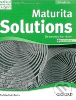 Maturita Solutions - Elementary - Work Book + CD - Tim Falla, Paul Davies