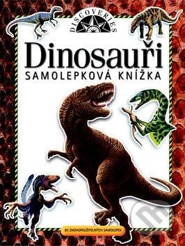 Samolep knížka Dinosauři -