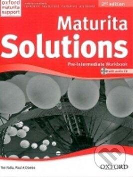 Maturita Solutions Pre-Intermediate (Workbook) - Náhled učebnice
