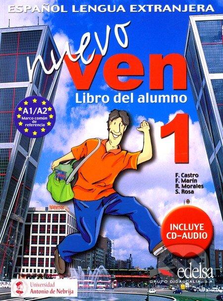 Nuevo ven 1, Libro del alumno - Náhled učebnice