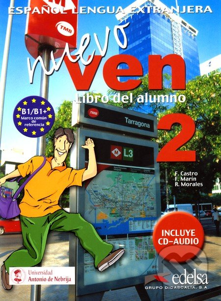 Nuevo ven 2, Libro del alumno - Náhled učebnice