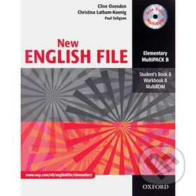 New English File Elementary, Multipack B - Náhled učebnice
