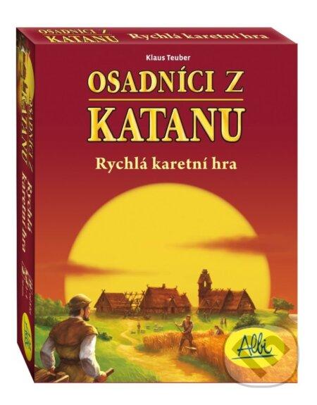Osadníci z Katanu - Klaus Teuber