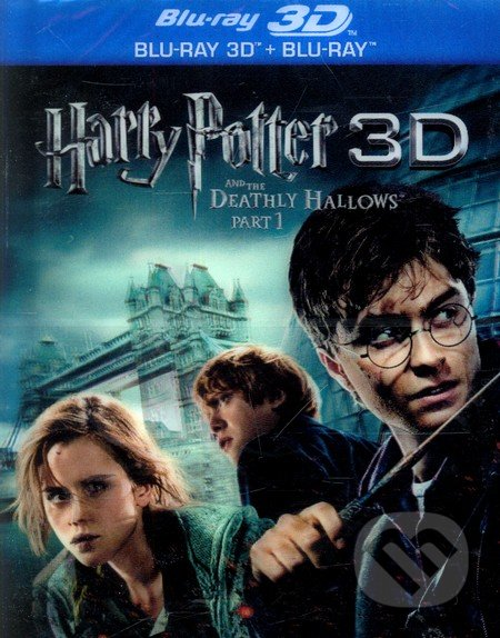 Harry Potter a Dary Smrti 1 (2D+3D) BLU-RAY