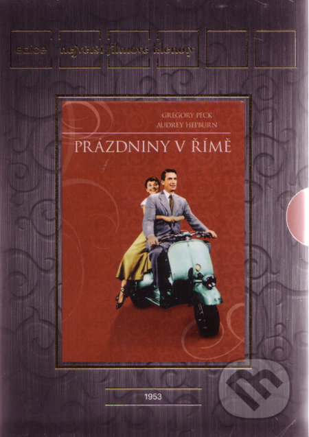 Prázdniny v Římě - Filmové klenoty DVD