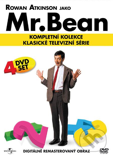 Mr. Bean - Kompletní kolekce - 4 DVD DVD