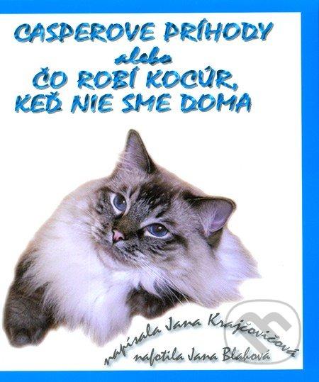 Casperove príhody alebo Čo robí kocúr, keď nie sme doma + CD - Jana Krajčovičová
