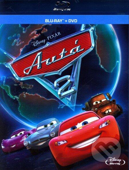 Auta 2 - Blu-ray + DVD DVD