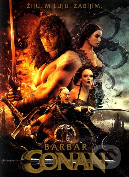 Barbar Conan DVD