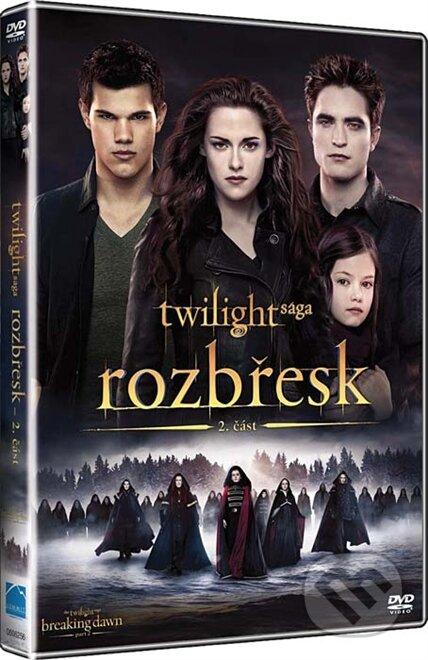 Twilight sága: Úsvit - 2. časť DVD
