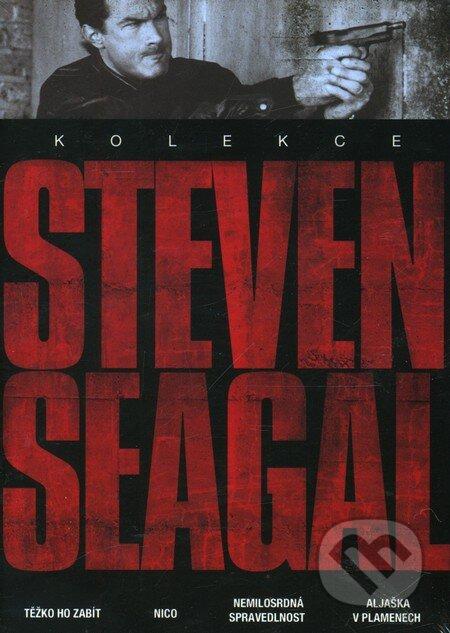 Kolekce Steven Seagal - 4 DVD DVD