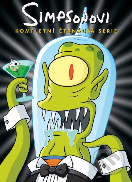 Simpsonovci - 14. séria (seriál) DVD