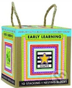 Early Learning: 10 Stacking and Nesting Blocks -