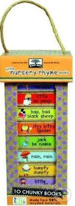 Green Start Book Towers: Little Nursery Rhymes Books -