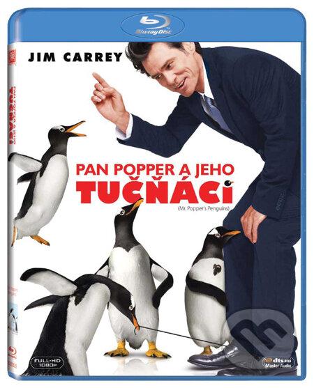 Pan Popper a jeho tučňáci BLU-RAY