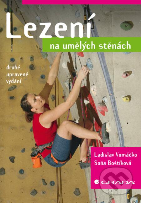 Lezení na umělých stěnách - Ladislav Vomáčko, Soňa Boštíková