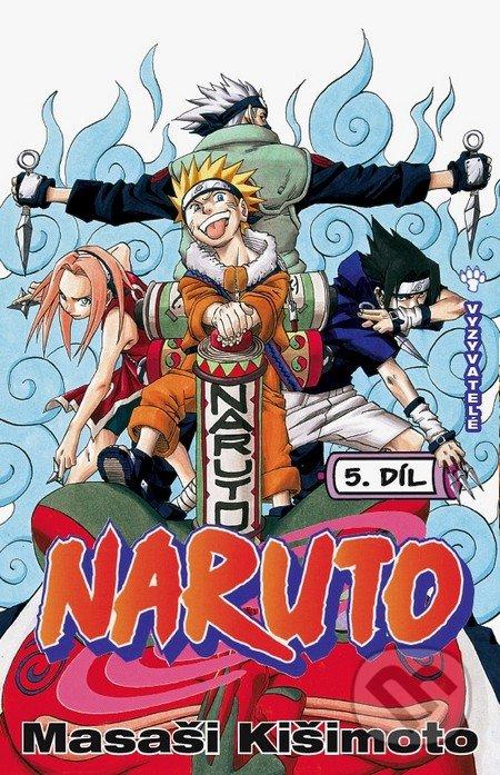 Naruto 5: Vyzyvatelé - Masaši Kišimoto